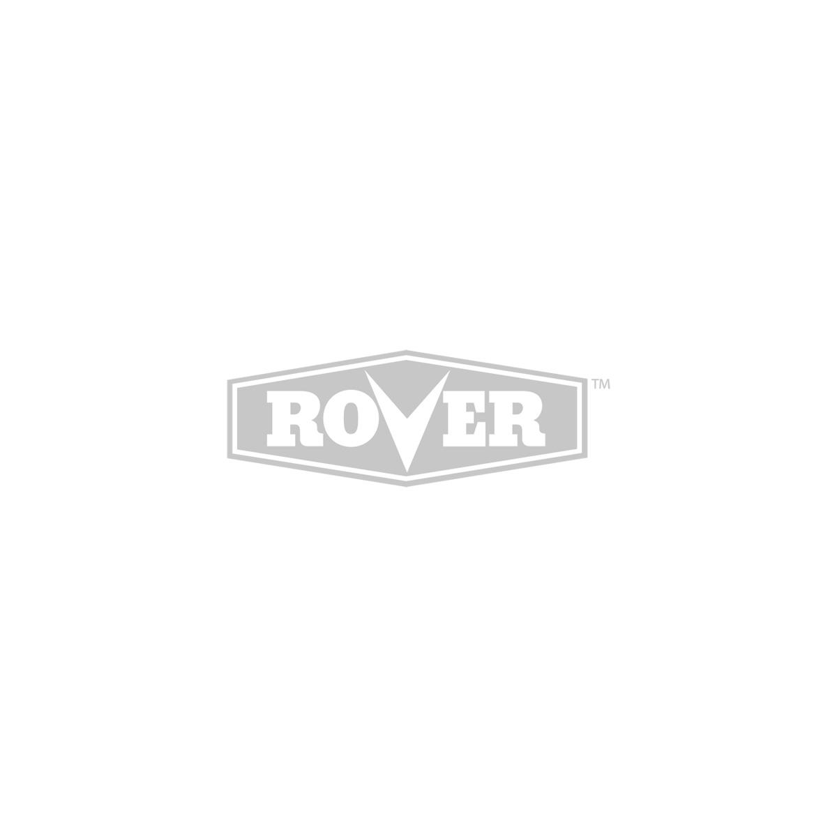 Ergonomic control panel with brush guard